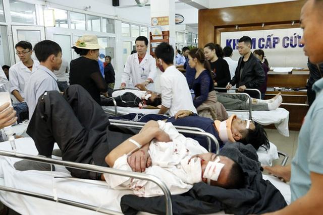 Nhiều tai nạn thương tâm xảy ra trong những ngày nghỉ Tết