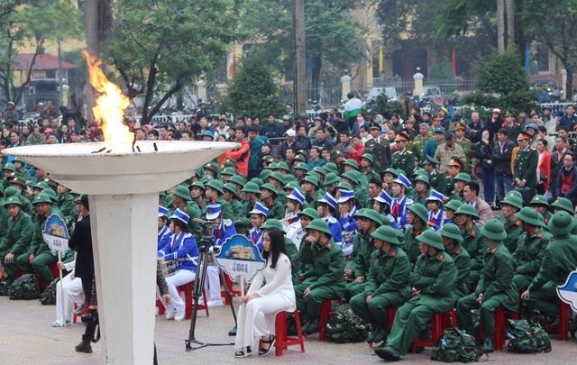 Nước mắt và nụ cười trong ngày tân binh lên đường nhập ngũ - 11