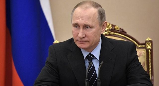 Tổng thống Nga Vladimir Putin (Ảnh: Kremlin)