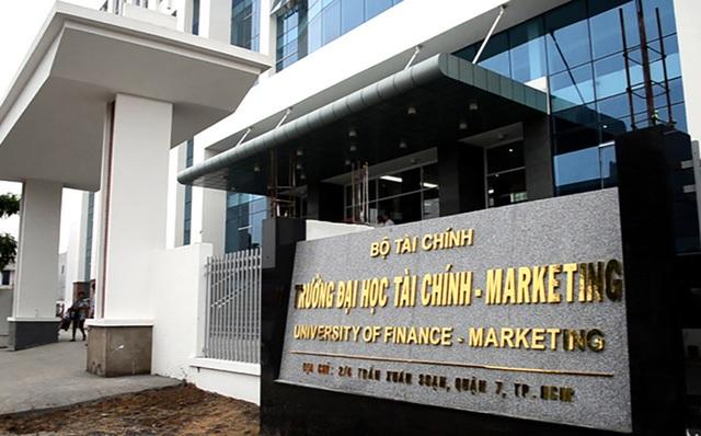 Hợp nhất trường CĐ và ĐH thành trường ĐH Tài chính Marketing