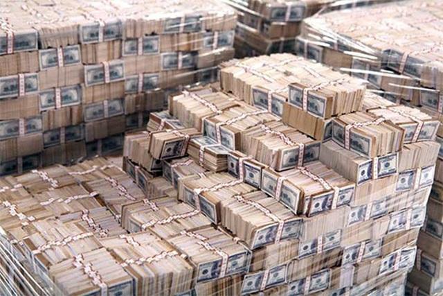 USD trong Ngân hàng Trung ương Iraq.
