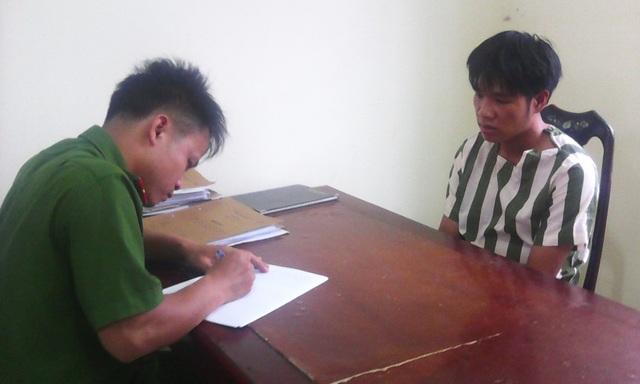Đối tượng Trương Văn Công tại cơ quan điều tra