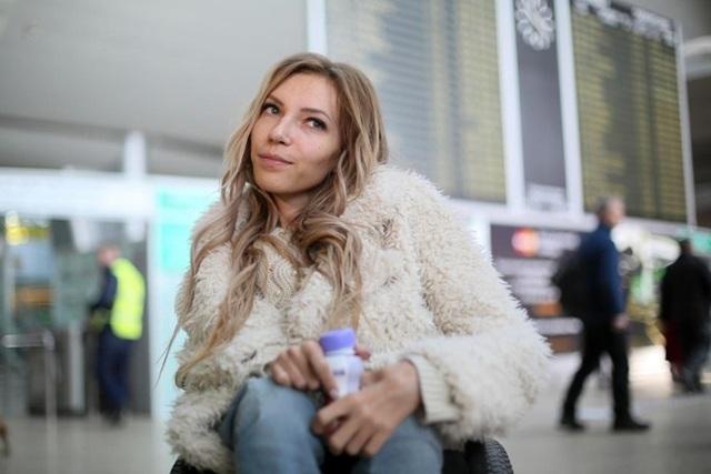 Yuliya Samoilova là một ca sĩ khuyết tật nổi tiếng tại Nga. Ảnh: AP