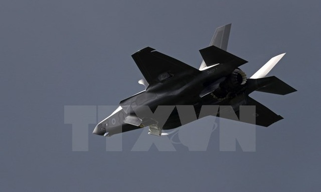 Máy bay tiêm kích F-35B của Mỹ. (Nguồn: AFP/TTXVN)