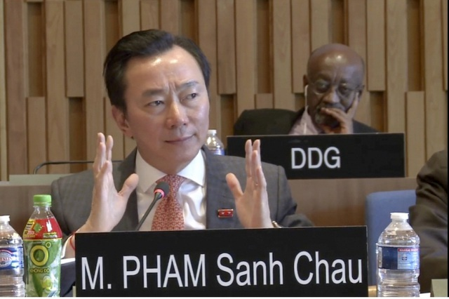 """Đại sứ Phạm Sanh Châu nói về """"nước uống Việt Nam"""" trên bàn UNESCO - 1"""