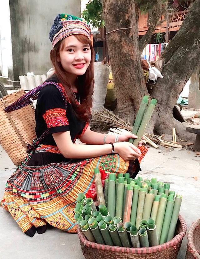 Em Pay Thị Huyền hiện đang học năm cuối Học viện Hành chính Quốc gia tại Hà Nội.
