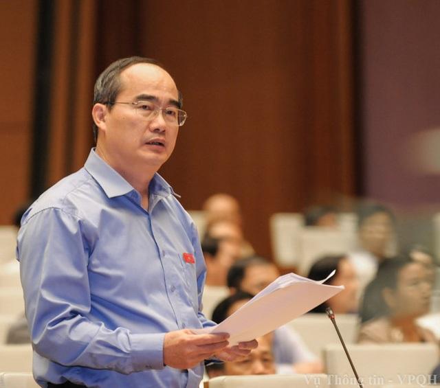 Ông Nguyễn Thiện Nhân trở thành Bí thư Thành ủy TPHCM, thay ông Đinh La Thăng.