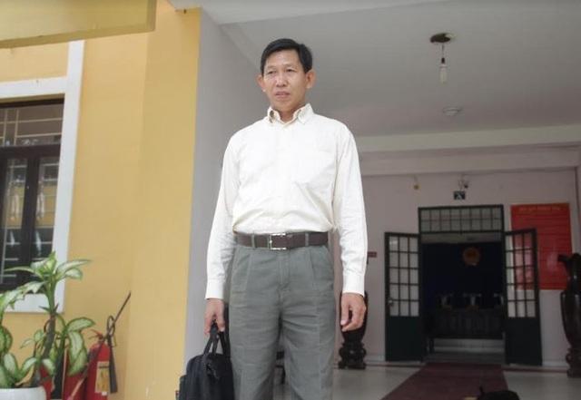 Ông Nguyễn Xuân Phú tại tòa
