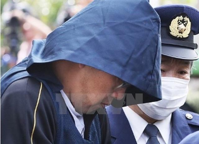 Nghi phạm Shibuya Yasumasa tại Cơ quan cảnh sát Abiko ngày 15/4. (Nguồn: The Japan News/TTXVN)