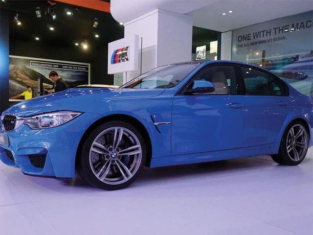 M3 - mẫu xe nhập khẩu nguyên chiếc của BMW được giới thiệu tại Triển lãm Ô tô quốc tế 2016 (VIMS 2016).
