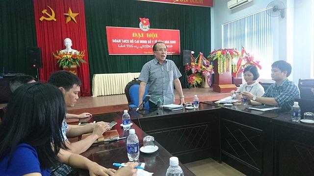 Ông Trần Quang Khánh chủ trì cuộc họp công bố kết luận của Hội đồng chuyên môn
