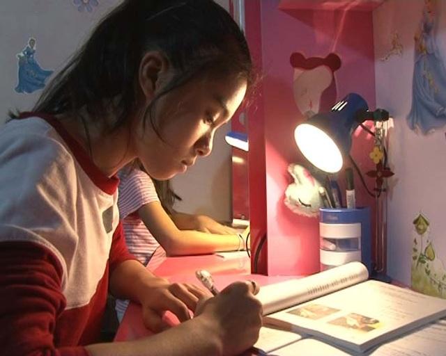 Nhiều học sinh dành cả đêm để học và không quan tâm đến vấn đề khác.