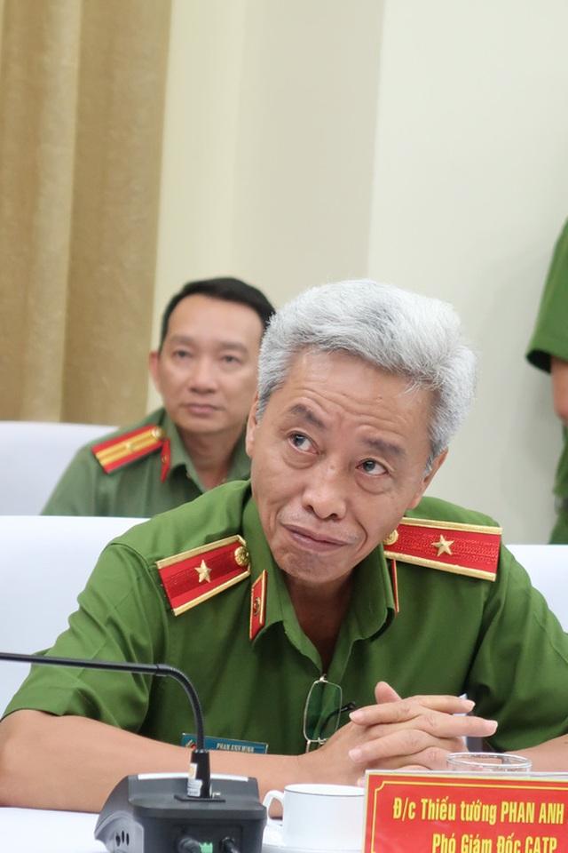 Thiếu tướng Phan Anh Minh trực tiếp chỉ đạo chuyên án