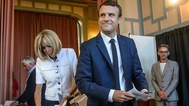 Tổng thống Pháp Emmanuel Macron. Ảnh: EPA.