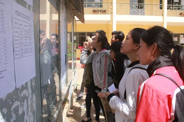 Trên 22.000 thí sinh tại Đắk Lắk làm thủ tục đăng ký dự thi