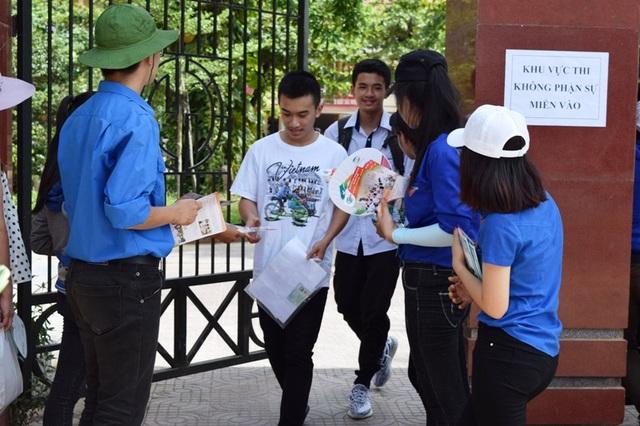 Quảng Bình có tất cả 9.204 thí sinh đăng ký dự thi môn Ngoại ngữ. (Ảnh Tiến Thành)