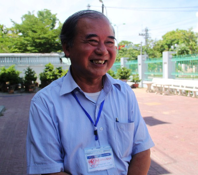 Giám đốc Sở Giáo dục và Đào tạo Bình Định Đào Đức Tuấn cho rằng kỳ thi tốt nghiệp THPT quốc gia năm 2017 tại Bình Định diễn ra nghiêm túc, đúng quy chế.