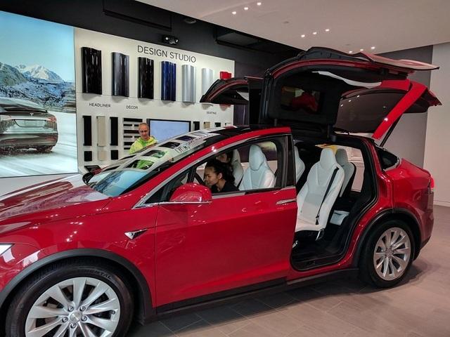 Ô tô điện Tesla đang ngày càng chiếm được cảm tình của người tiêu dùng. Ảnh: H.Đ.Q