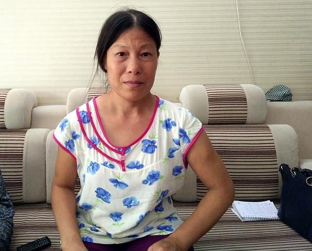 Chị Đỗ Thị Thủy cho biết, chị đã làm nghề giúp việc được hơn 10 năm.