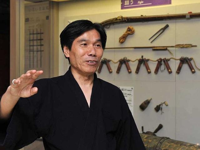 Kawakami hiện là ninja thực thụ cuối cùng của Nhật Bản. Ông quyết định không nhận đồ đệ vì ninja không còn hợp với thời đại. Ảnh: AFP