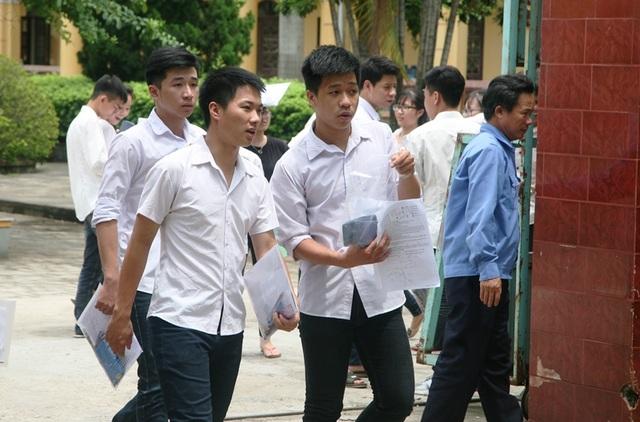 Các thí sinh Hà Nam tham dự kỳ thi tốt nghiệp THPT quốc gia 2017