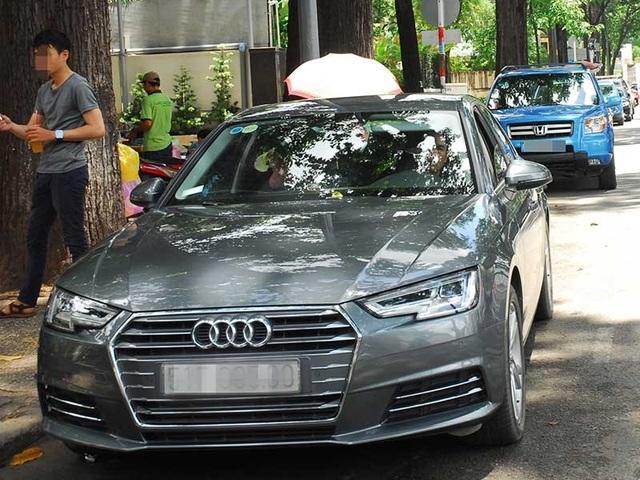 Một số chủ nhà không cho phép đỗ ô tô trước nhà mình mặc dù đường được phép đậu xe. Ảnh minh họa: HTD