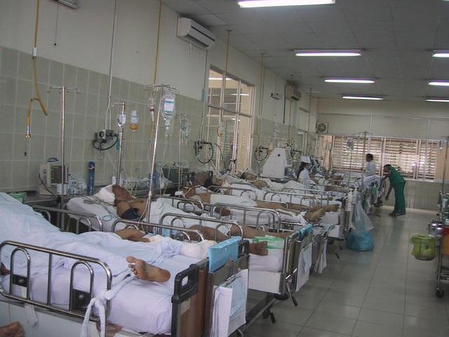Khoa Chấn thương sọ não Bệnh viện Chợ Rẫy luôn trong tình trạng quá tải
