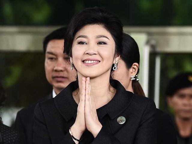 Cựu Thủ tướng Thái Lan Yingluck Shinawatra tại phiên điều trần cuối cùng của vụ kiện chương trình trợ giá gạo ngày 21-7. Ảnh: AFP