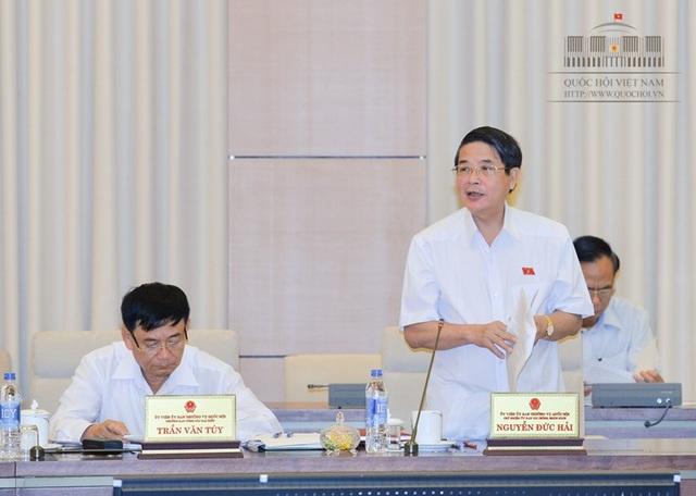 Chủ nhiệm UB Tài chính Ngân sách Nguyễn Đức Hải