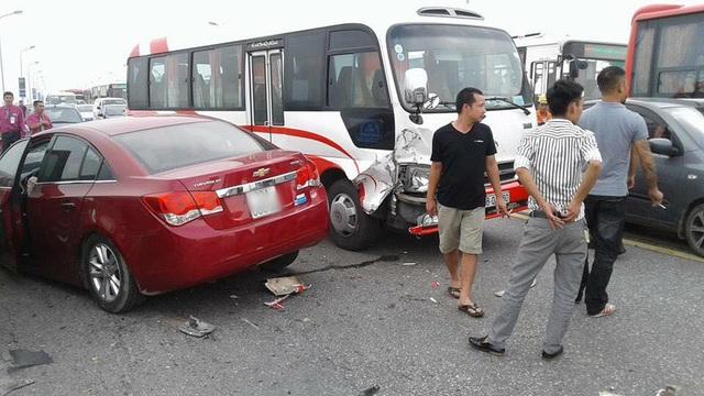 Hiện trường vụ tai nạn (Ảnh: CTV).