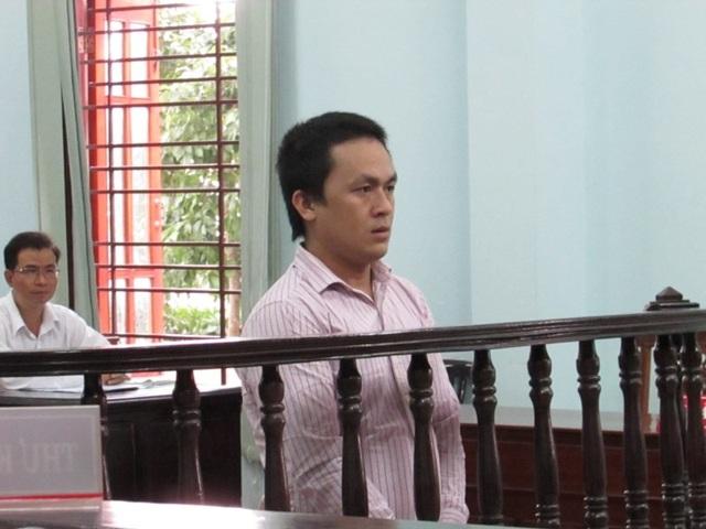 Bị cáo Thi tại tòa chiều 28-9. Ảnh: NN