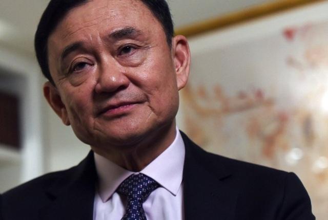 Cựu Thủ tướng Thái Lan Thaksin Shinawatra. Ảnh: THE NATION