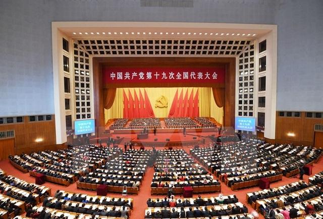 Toàn cảnh lễ khai mạc Đại hội đại biểu toàn quốc lần thứ XIX của Đảng Cộng sản Trung Quốc. (Nguồn: THX/TTXVN)