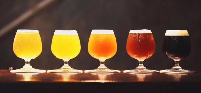 Nhiều loại bia có hương vị khác nhau đậm chất Việt Nam