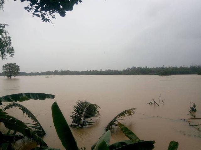 Mưa lũ khiến nhiều xã của huyện Hòa Vang bị ngập lụt