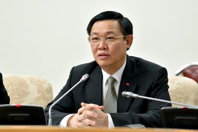 Phó Thủ tướng Vương Đình Huệ phát biểu tại buổi làm việc với ILO tại Việt Nam. Ảnh: VGP/Nhật Bắc