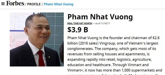 Tài sản của ông Phạm Nhật Vượng liên tục tăng mạnh trong 2 tuần gần đây.