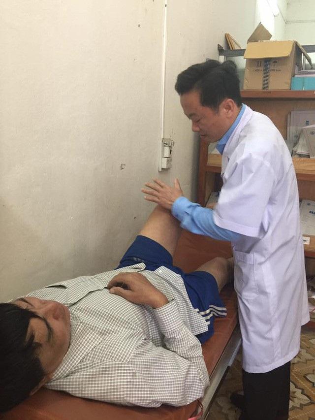 Một bệnh nhân do BS An trực tiếp phẫu thuật thay khớp háng đang tái khám