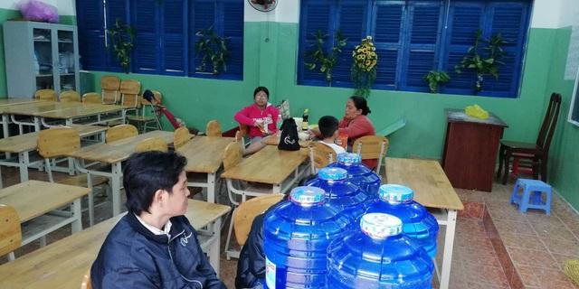 Người dân phường Thắng Nhì, TP Vũng Tàu được sơ tán đến các điểm trú ẩn an toàn