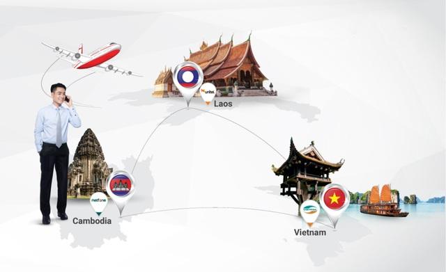 Viettel áp dụng mức cước chuyển vùng quốc tế (roaming) giữa 3 nước Đông Dương tương đương như mức cước trong nước, kể từ ngày 1/1/2017.