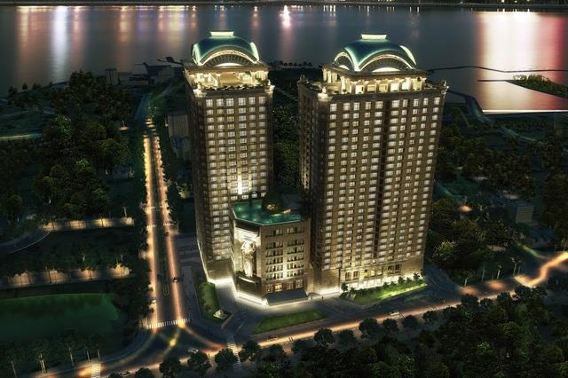 D'. Le Roi Soleil là dự án cao tầng duy nhất được cấp sổ đỏ vĩnh viễn tại bán đảo Quảng An