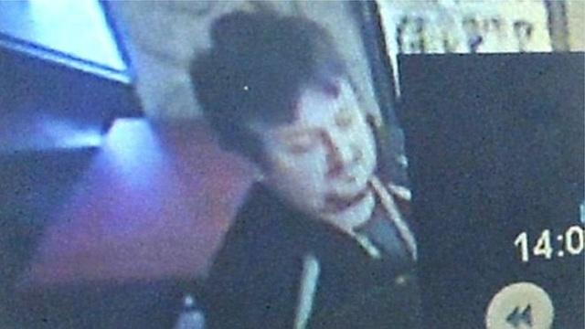 Bức ảnh cuối cùng của Lukasz Urban, ngay trước khi anh bị tấn công.