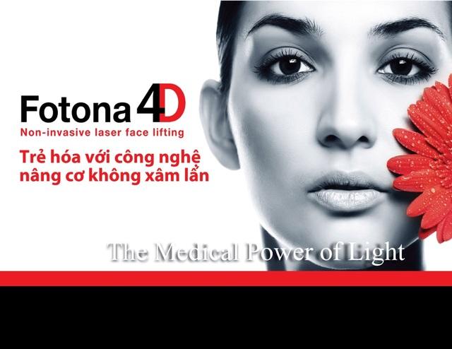 Trẻ hoá với FOTONA 4D, Công nghệ nâng cơ không xâm lấn - 1