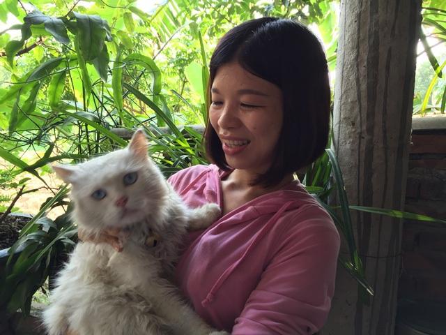 """""""Việc tốt, tử tế gần gũi lắm, không cao xa gì"""", chị Bùi Thị Hòa."""