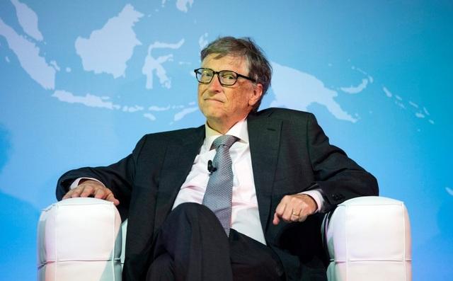 Bill Gates trong một cuộc gặp gỡ tại London vào tháng 10/2016 (Nguồn: EPA)