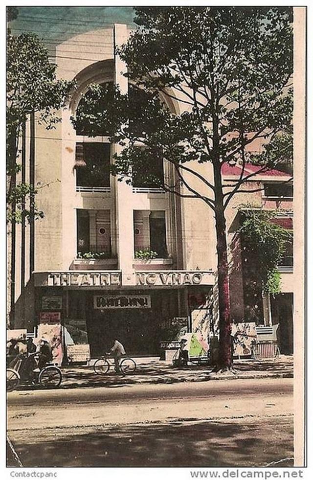 Rạp Nguyễn Văn Hảo trước đây. Ảnh tư liệu