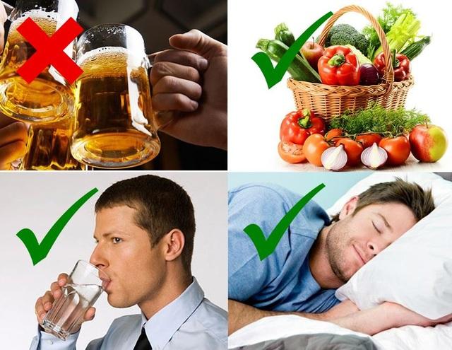 """Mùa lễ hội, lá gan nam giới """"mệt"""" đến mức nào? - 2"""