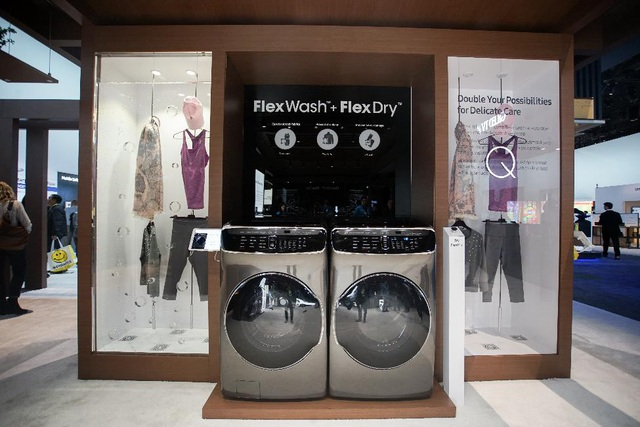 Bộ đôi FlexWash và FlexDry có thiết kế sang trọng bên cạnh công năng mới lạ, hiệu quả