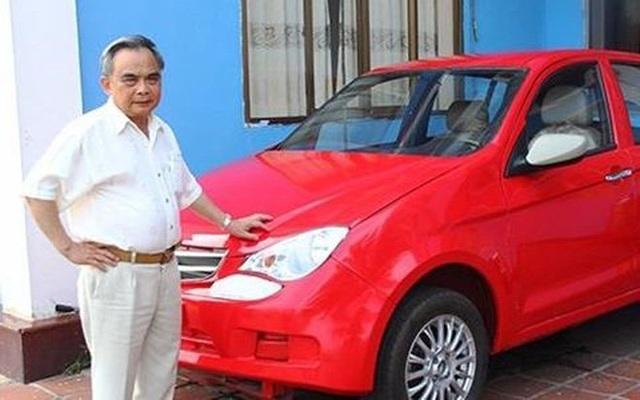 Ông Huyên bên giấc mơ ô tô thương hiệu Việt dang dở.