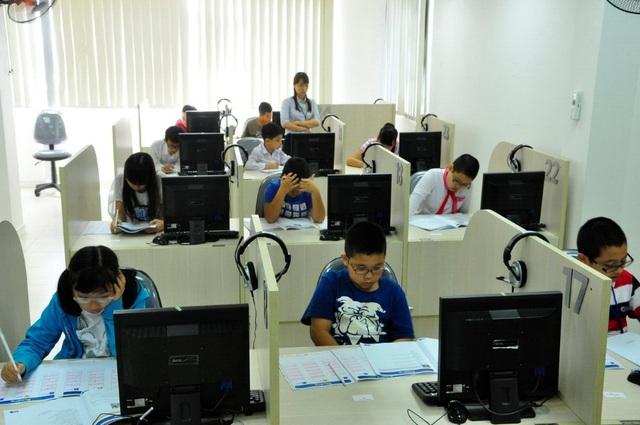 Làm nhiều dạng bài thi quốc tế giúp học sinh phát triển kỹ năng làm bài thi tốt